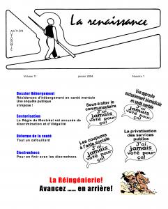 La Renaissance - Janvier 2004 - volume 11 numéro 1.