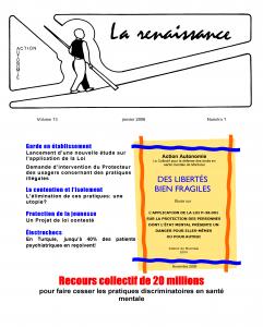 La Renaissance - Janvier 2006 - volume 13 numéro 1.
