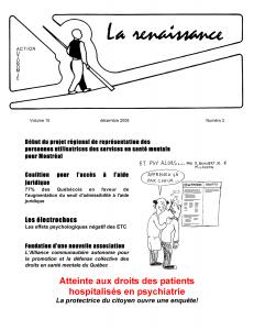 La Renaissance - Décembre 2008 - volume 15 numéro 3.