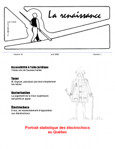 La Renaissance - Avril 2009 - volume 16 numéro 1.